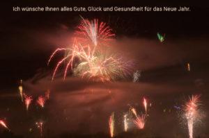 Ich wünsche Ihnen alles Gute, Glück und Gesundheit für das Neue Jahr.