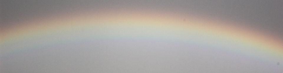 Ein Regenbogen