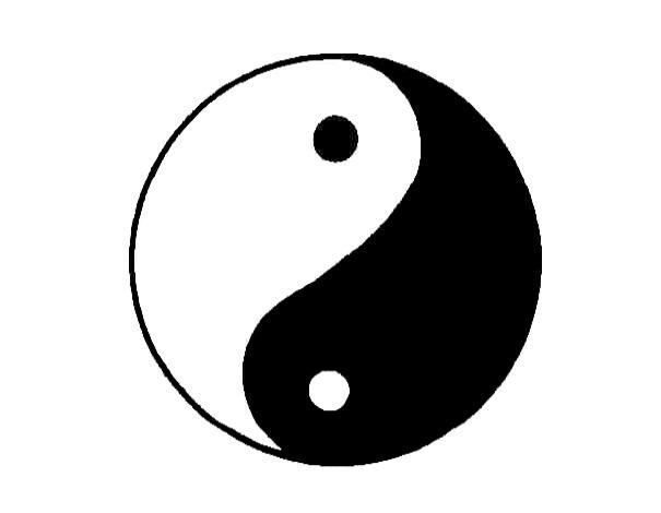 Die Monade - das Zeichen für Yin und Yang
